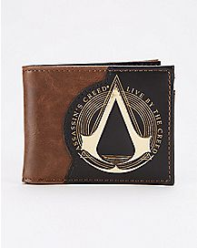 Assassins Creed Live By The Creed Bifold Wallet