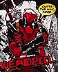 Deadpool Outta The Way Fleece Blanket - Marvel Comics