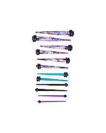 Multi-Pack Galaxy Taper Set - 6 Pair
