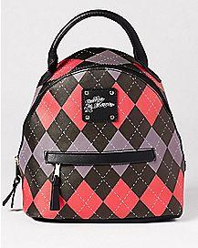 Daddy's Lil Monster Harley Quinn Mini Backpack
