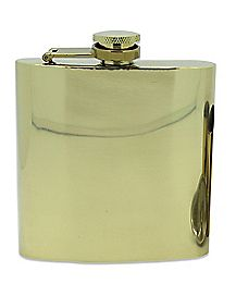 Gold Flask - 6 oz.