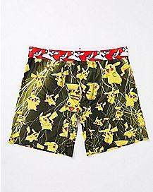 Lightning Storm Pikachu Boxer Briefs