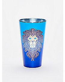 Alliance Lion Warcraft Pint Glass - 16 oz.