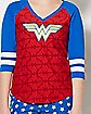 Wonder Woman Shirt and Shorts Set - DC Comics