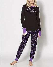 Batman Thermal Pajama Set - DC Comics