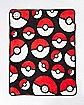 Pokemon Pokeball Fleece Blanket