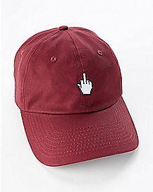Middle Finger Dad Hat
