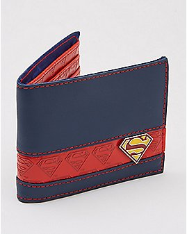Superman Badge Bifold Wallet