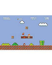 Level 1-1 Super Mario Bros Poster