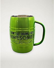 Get Drunk and Awesome Beer Mug - 32 oz.