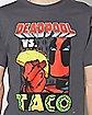 Deadpool vs. Taco T Shirt - Marvel Comics