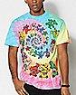 Tie Dye Bear Grateful Dead T Shirt