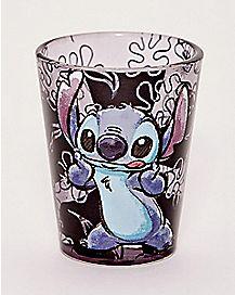 Cheeks Stitch Mini Glass 1.5 oz. - Disney