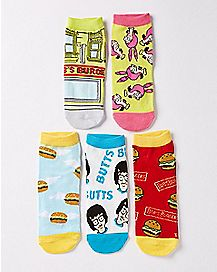 Bob's Burgers Socks 5 Pack