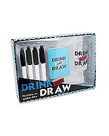 Drink and Draw Game