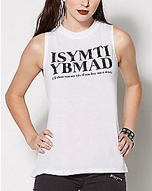 ISYMTIFBMAD Muscle Tank Top