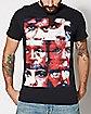 Faces Arcade Fire T Shirt