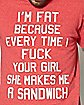 Your Girl Makes Me Sandwiches T Shirt