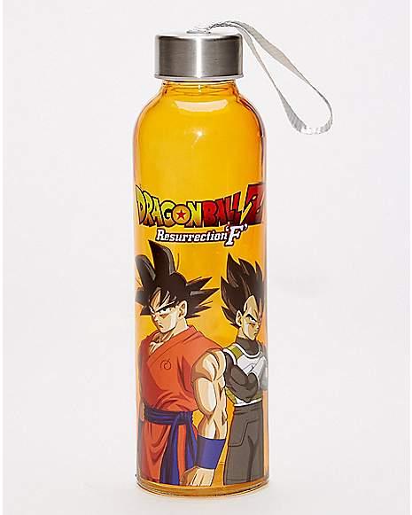 Dragon Ball Z Resurrection F Glass Water Bottle Spencer S