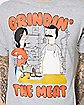 Grindin The Meat Bob's Burgers T Shirt