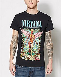 Forest In Utero Nirvana T Shirt
