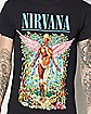 In Utero Forest Nirvana T Shirt