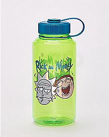 Rick and Morty Foil Water Bottle - 32 oz.
