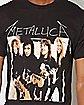 Group Metallica T Shirt