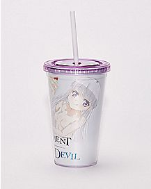 The Testament Of Sister New Devil Cup with Straw - 16 oz