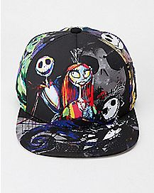 Nightmare Before Christmas Snapback Hat