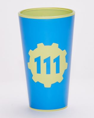 111 Vault-Tec Pint Glass 16 oz. - Fallout by Spencer's