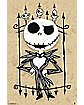 Jack Skellington Cartoon Art Poster - The Nightmare Before Christmas