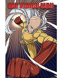 Saitama One Punch Man Poster