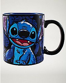 Stitch Floral Coffee Mug 20 oz. - Disney
