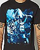 Blackest Night Batman Skull T Shirt