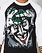 Joker Haha Batman: The Killing Joke Raglan T Shirt