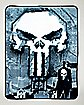 Graffiti Punisher Fleece Blanket - Marvel Comics