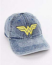 Denim Wonder Woman Dad Hat