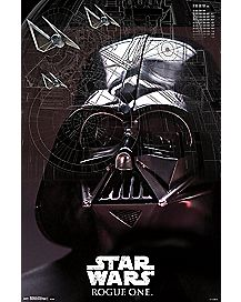 Darth Vader Rogue One Star Wars Poster