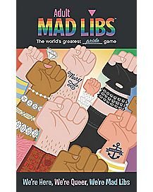 LGBTQ Mad Libs