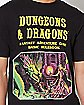 Dungeons and Dragons T Shirt - Black
