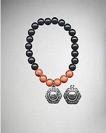 Orange Chakra Charm Bracelet