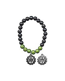 Green Chakra Charm Bracelet