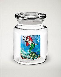 Mermaid Pot Leaf Jar - 6 oz