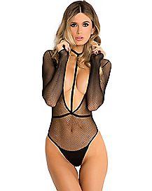 Long Sleeve Harness Bodysuit