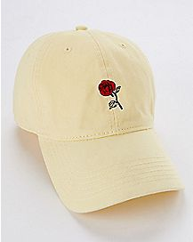 Rose I Only Date Beasts Dad Hat - Beauty and the Beast