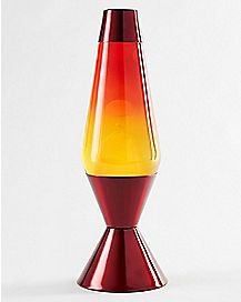 Yellow Orange and Red Lava Lamp - 16.3 Inch