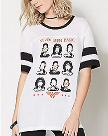 Wonder Woman Never Basic T Shirt - DC Comics