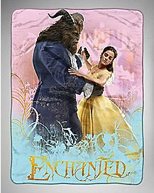 Enchanted Dance Beauty and the Beast Fleece Blanket - Disney