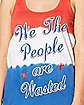 We the People Wasted Tank Top
